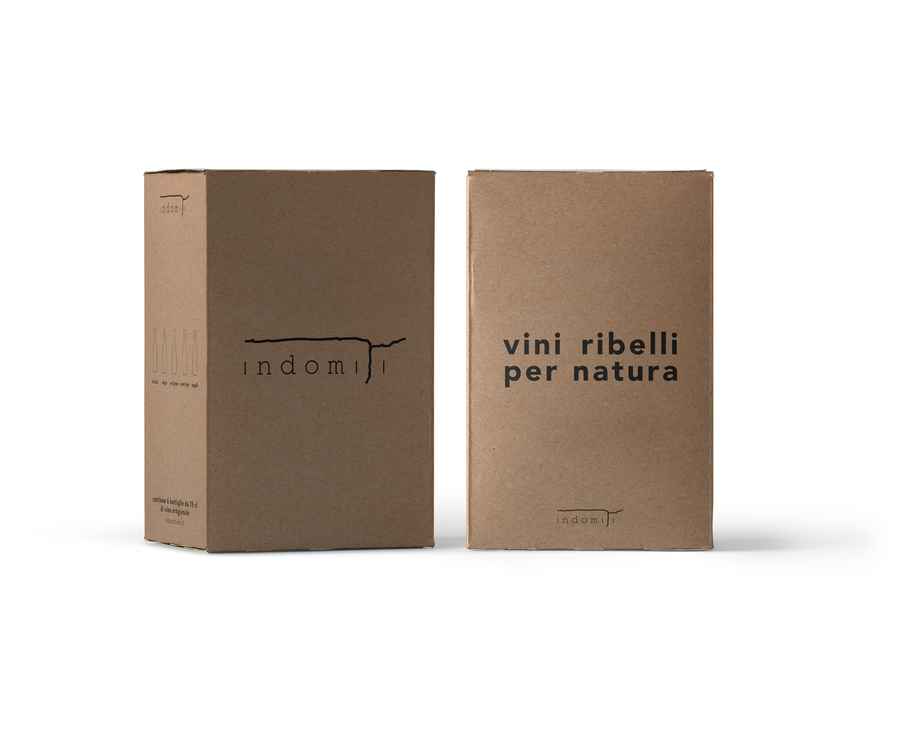 packaging vino naturale